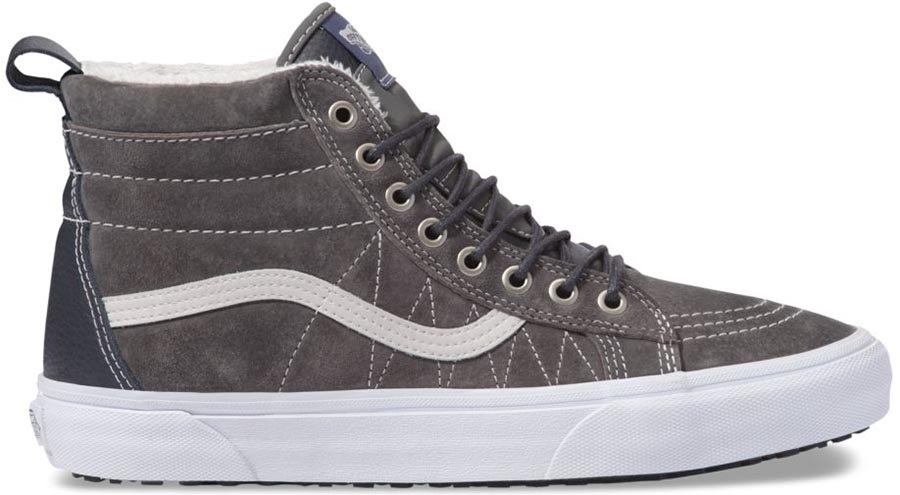 Vans Sk8-Hi MTE Skate Shoes, UK 11 Pewter/Asphalt