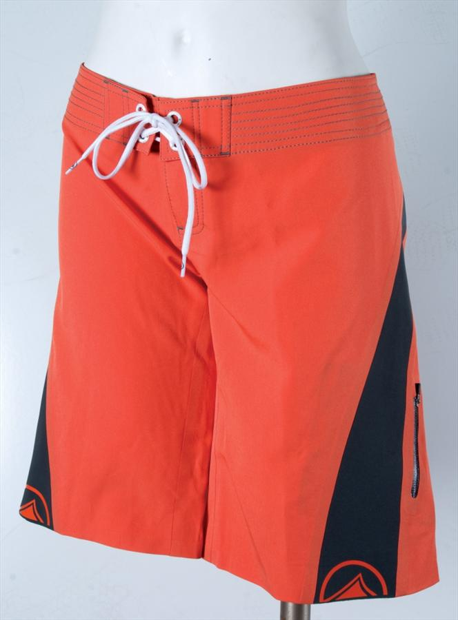 Liquid Force Performer Board Shorts, Size 8, Orange