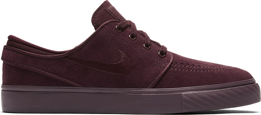 Nike SB Stefan Janoski Women's/Kid's Skate Shoes, UK 6 Burgundy