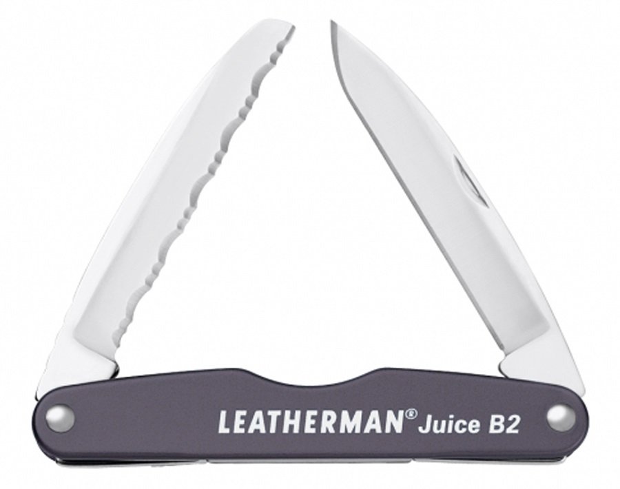 Leatherman Juice B2 Pocket Multi-Tool, 2-in-1 Granite Grey
