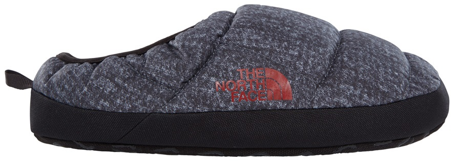 The North Face NSE Tent Mule III Slipper Shoes, M Grey/Grey/Red