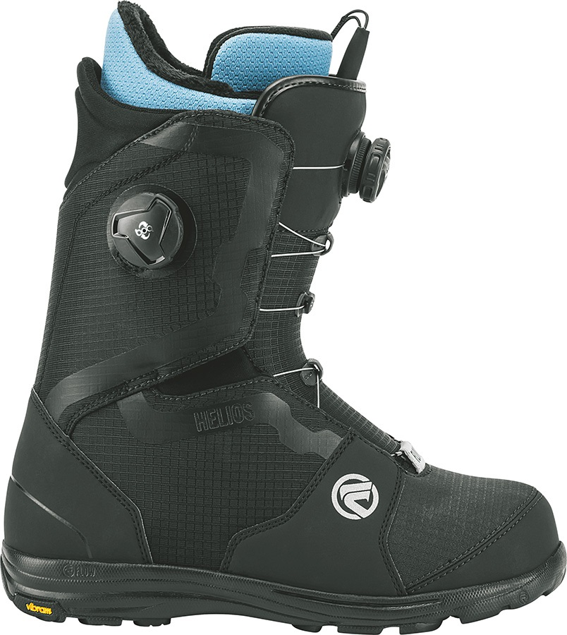 Flow Helios Focus Snowboard Boots, UK 12 Black 2018