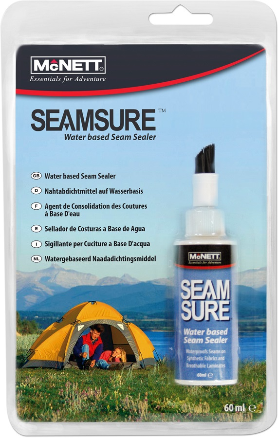 McNett Seamsure Water Based Seam Sealer, 60ml White