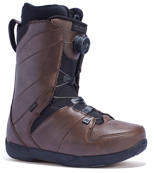 Ride Anthem Boa Snowboard Boots, UK 8.5, Brown, 2017