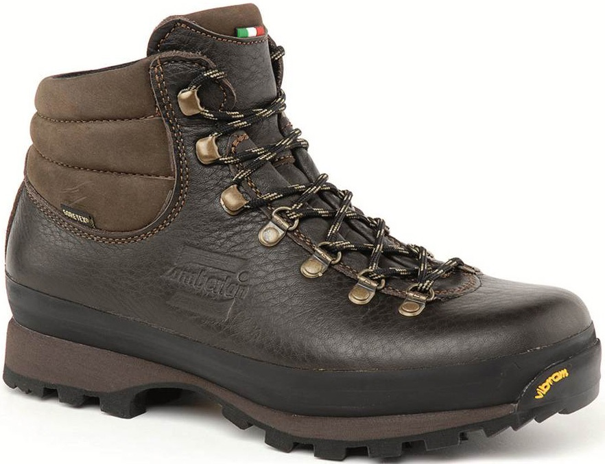 Zamberlan Ultra Lite GTX Leather Women's Hiking Boots, UK 5.75 Brown
