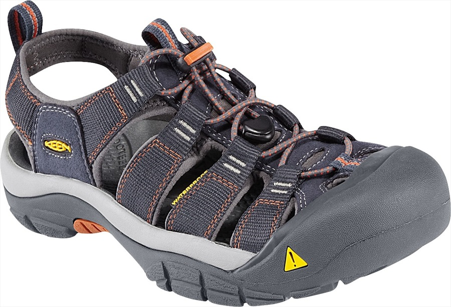 Keen Adult Unisex Newport H2 Walking Sandals, UK 7 India Ink/ Rust