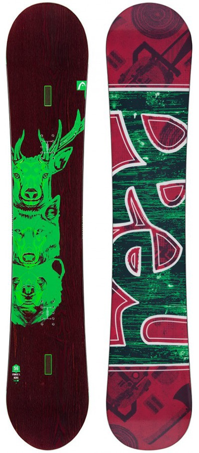 Head Force I.Kers Positive Camber Snowboard, 153cm 2015