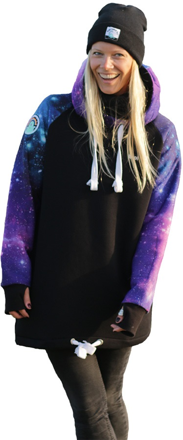 bro! Chill N'shred Ski/Snowboard Hoodie, S Space Cadet