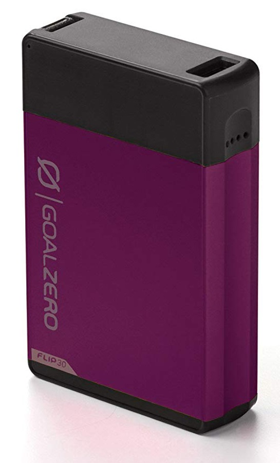 Goal Zero Flip 30 USB Phone Charger & Powerbank, Plum