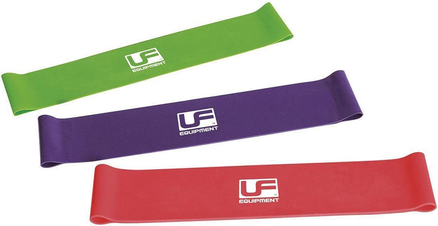 Urban Fitness Equipment Resistance Light Loop Band, Purple