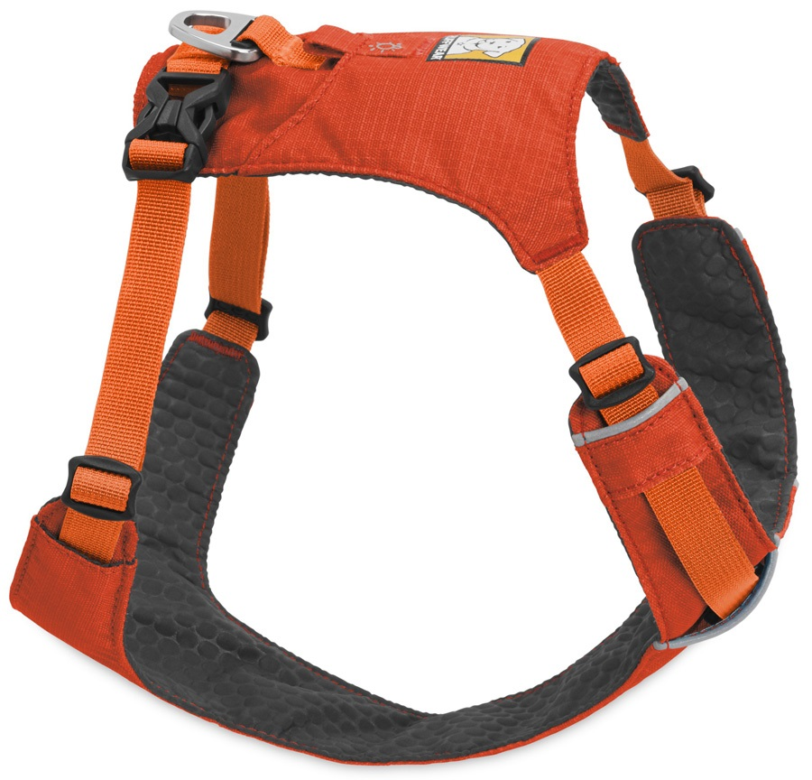 Ruffwear Hi & Light Harness Active Dog Harness - M, Sockeye Red