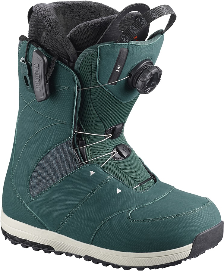 Salomon Ivy BOA SJ Women's Snowboard Boots, UK 7.5 Deep Teal 2019