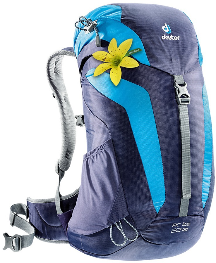 Deuter AC Lite 22 Hiking Backpack 22L Blueberry/Turquoise