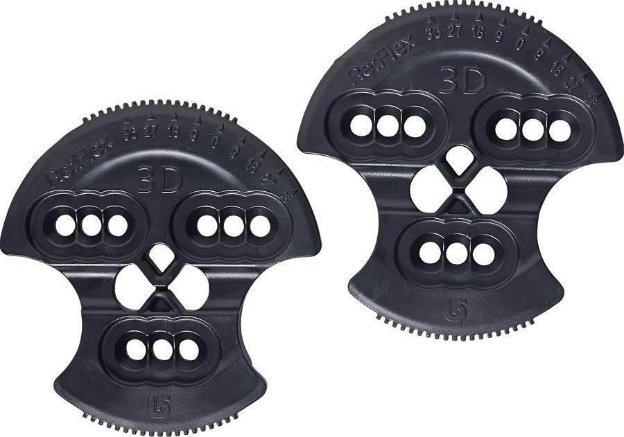 Burton Re:Flex 3D/3 Hole Pattern Snowboard Binding Discs, Post 12/13
