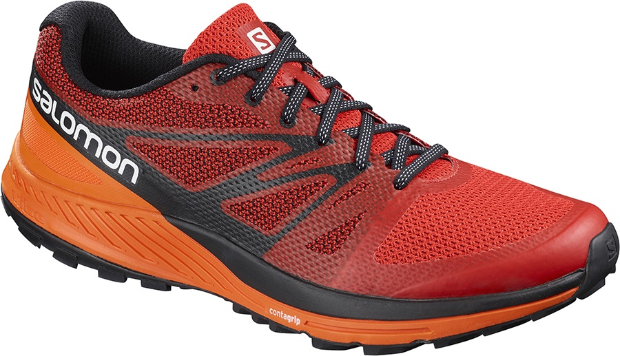Salomon Sense Escape Trail Running Shoes, UK 7.5 Fiery Red