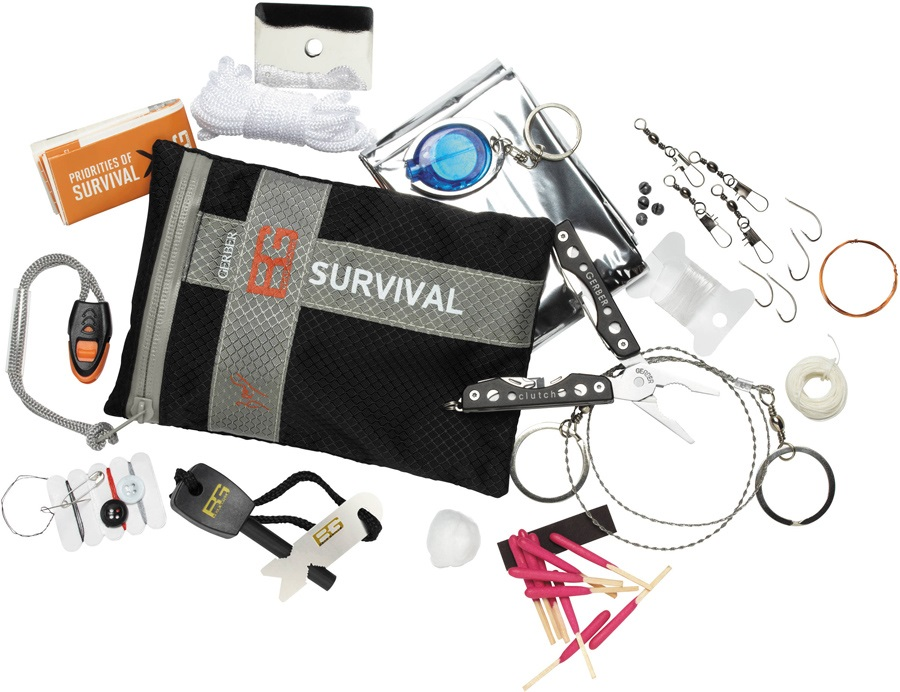 Gerber Bear Grylls Ultimate Survival Kit 16 Items
