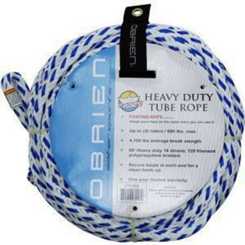 O'Brien Floating Towable Tube Rope 4 Person Blue