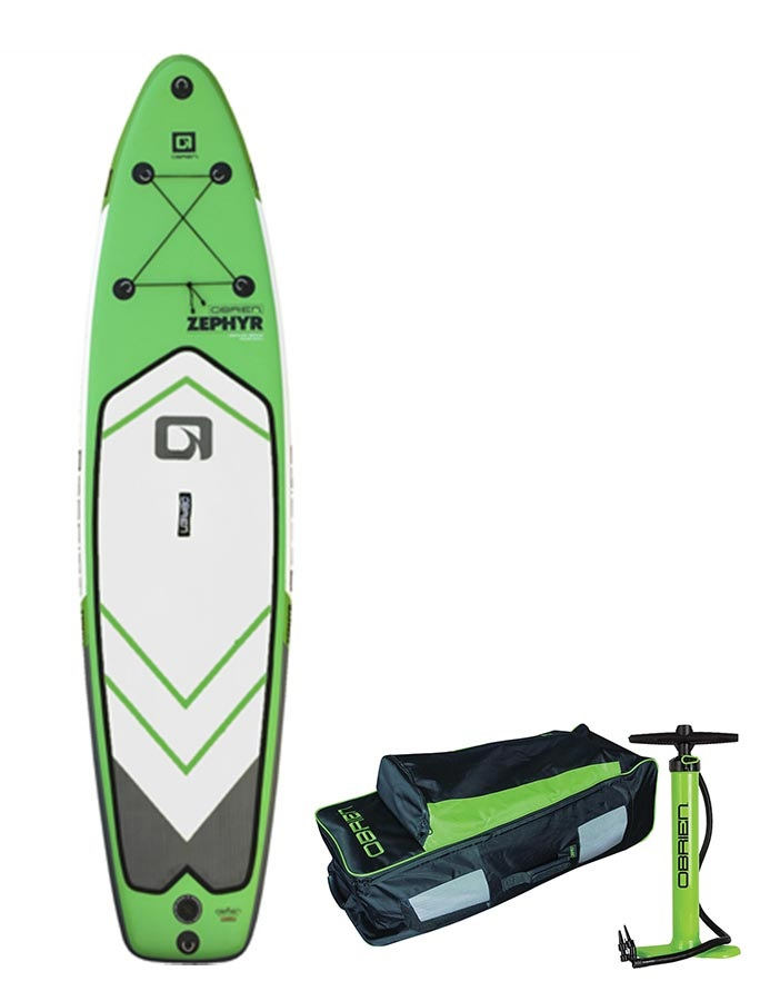 "O'Brien Zephyr Touring ISUP Paddleboard Package, 10'6"" 2017"