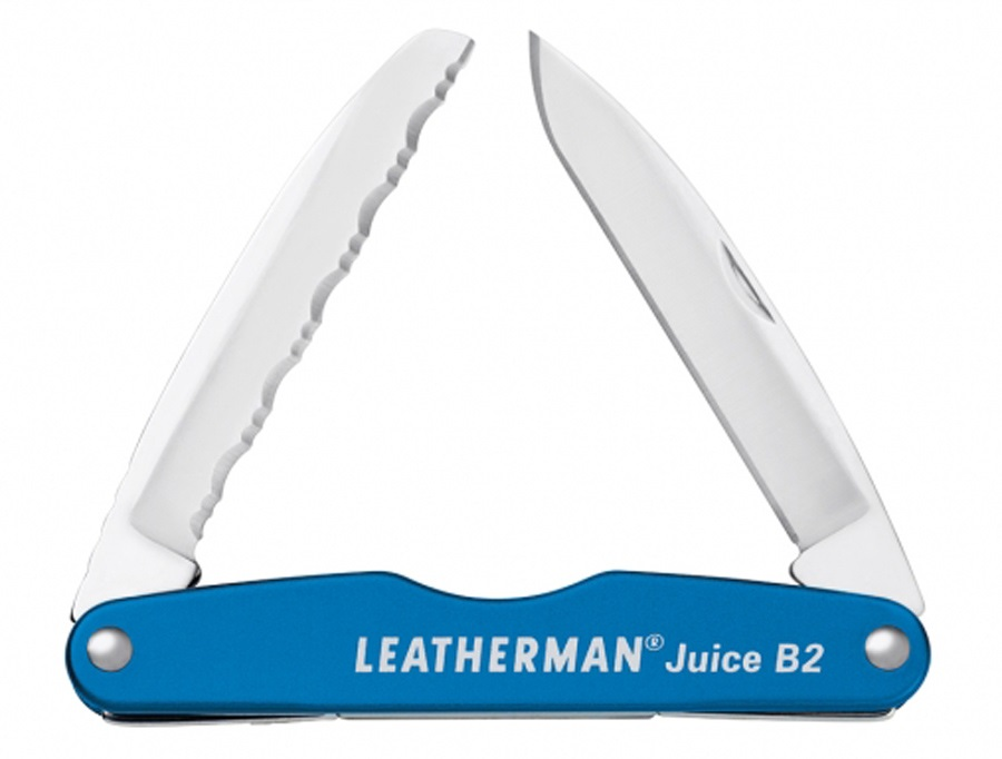 Leatherman Juice B2 Pocket Multi-Tool, 2-in-1 Columbia Blue