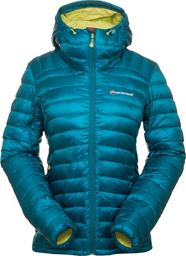 Montane Featherlite Women's Down Jacket UK 10 Zanskar Blue
