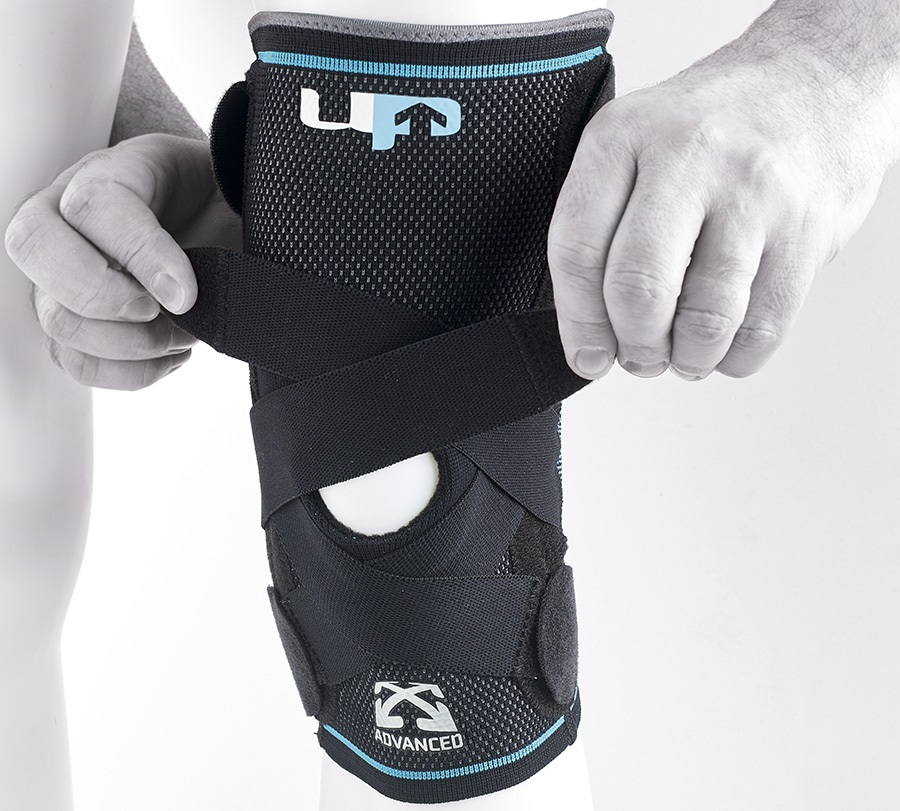 Ultimate Performance Advanced Compression Knee Support, L Black