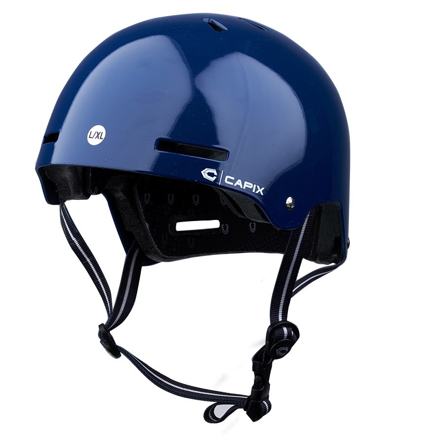Capix Crusher Skate/Bike Helmet Blue