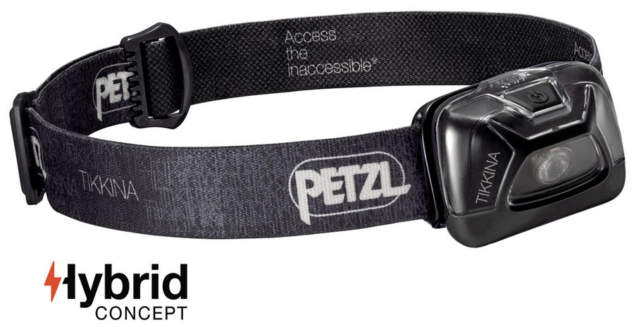 Petzl Tikkina Headlamp Headtorch, 150 Lumens Black