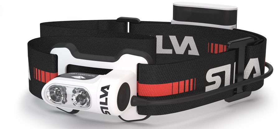 SILVA Trail Runner 4 IPX5 Running Headlamp, 350 Lumens Black