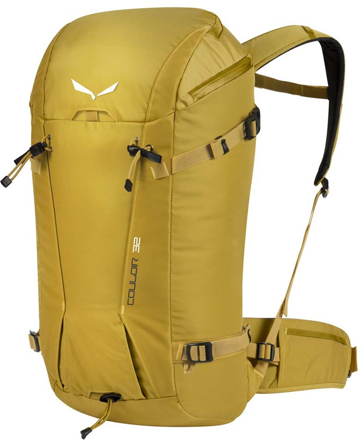 Salewa Couloir 32 Mountaineering Backpack Rucksack 32L Nugget Gold dd4313671ea2a