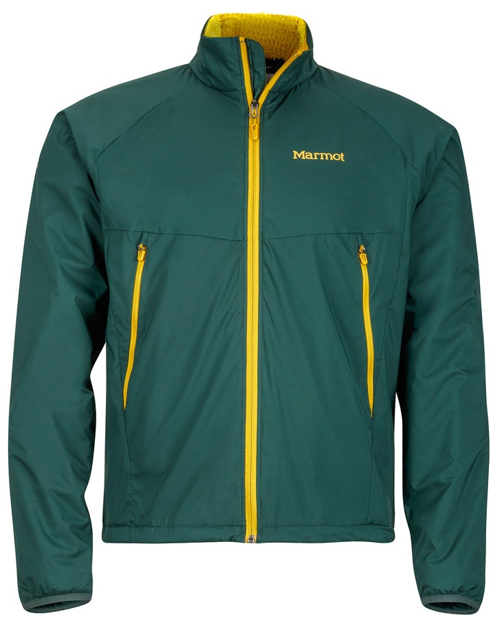 Marmot Dark Star Jacket Men's Insulated Polartec Alpha, S Dark Spruce