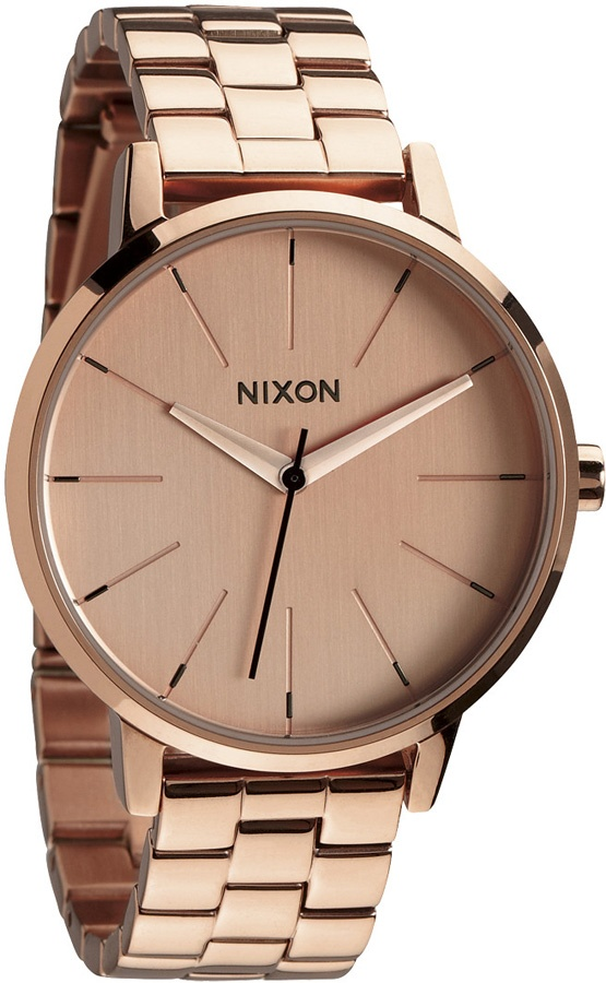 Nixon Kensington Women's Watch, One Size, All Rose Gold