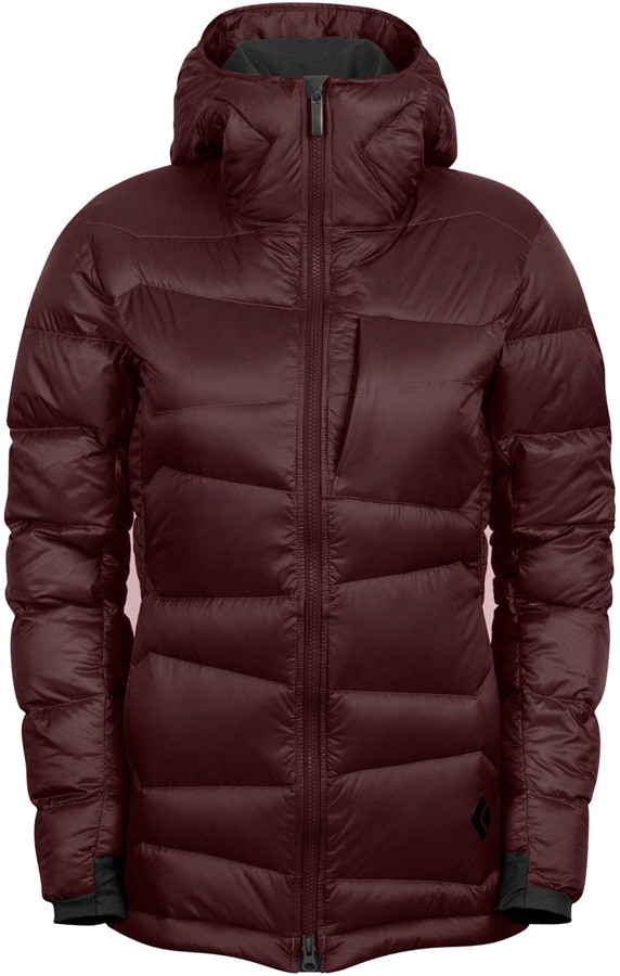 Black Diamond Cold Forge Parka Women's Insulated Jacket UK 12 Merlot