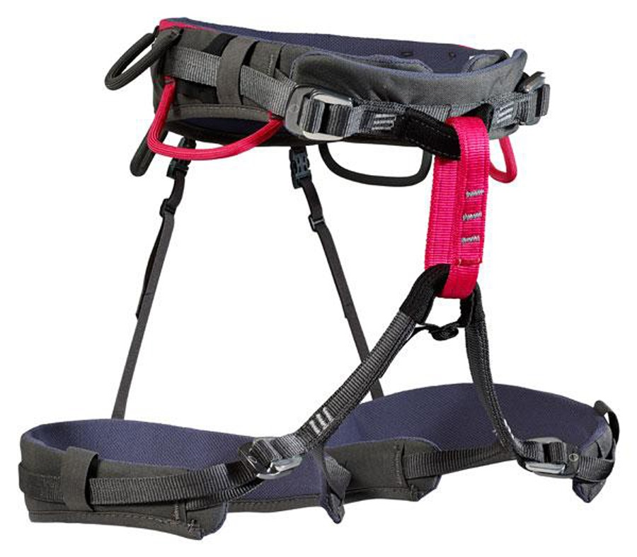 Wild Country Spire Women's Rock Climbing Harness 70-90cm Grey/Pink