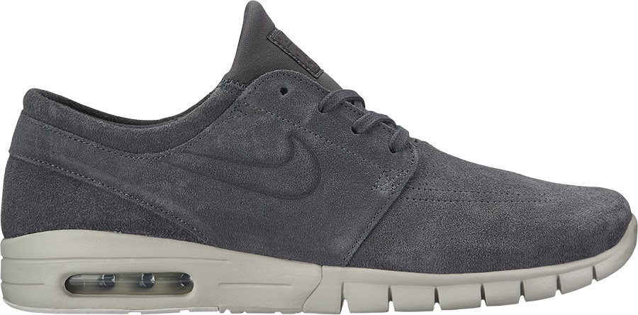 c1a70eb759 Nike SB Stefan Janoski Max L Skate Shoes, UK 7 Dark Grey/Light Bone