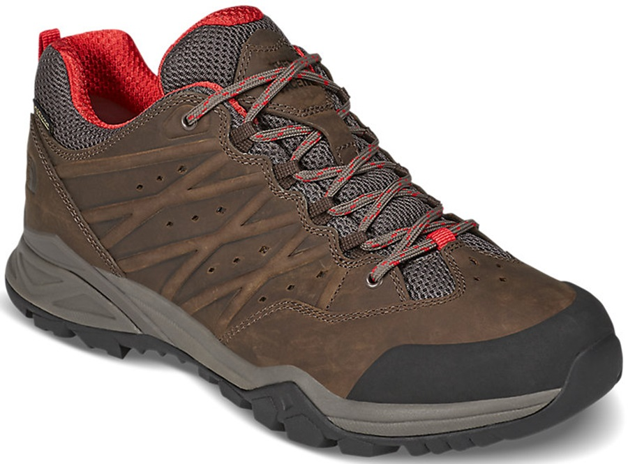 The North Face Hedgehog Hike II GTX Walking Shoes, UK 10 Brown
