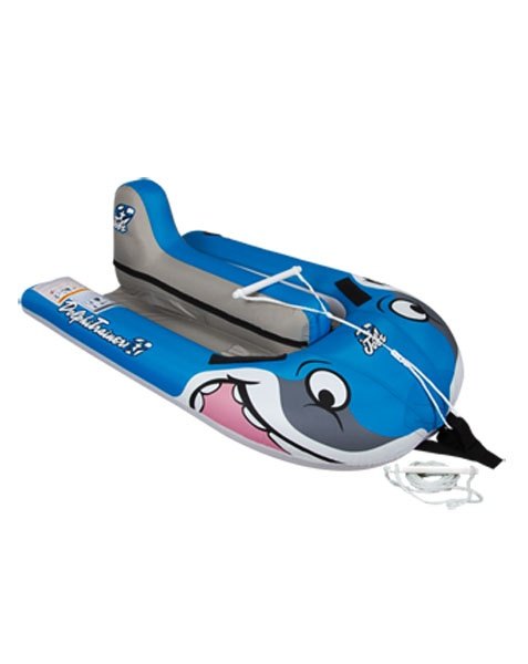 Jobe Starship Dolphi Kids Towable Inflatable, 1 Rider, Blue