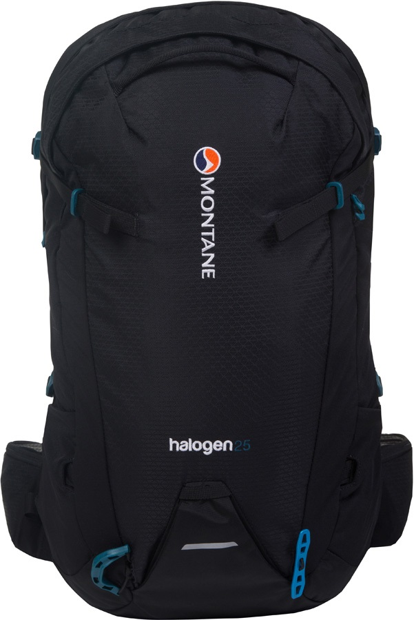 Montane Halogen Mountain Climbing Backpack, 25L M/L Black