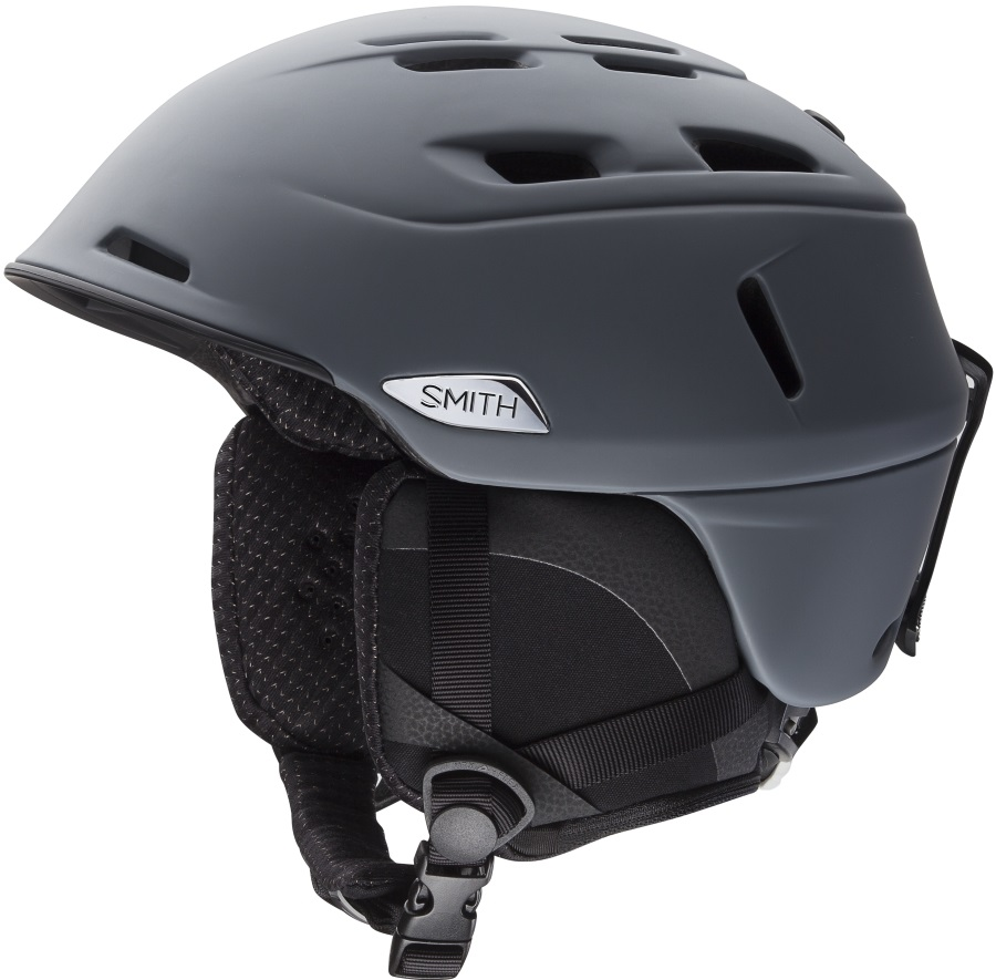 Smith Camber Snowboard/Ski Helmet M Matte Charcoal