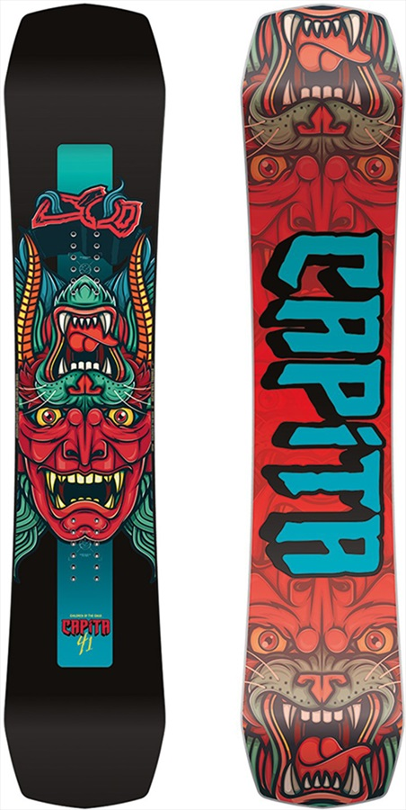 Capita Children Of The Gnar Kid's Hybrid Camber Snowboard, 141cm 2019