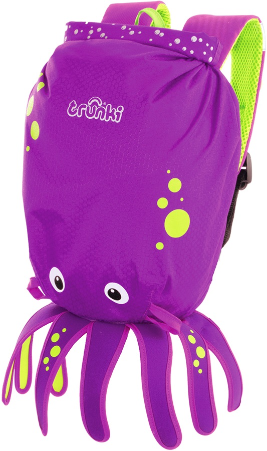 Trunki PaddlePak Kid's Backpack, 7.5L Inky The Octopus