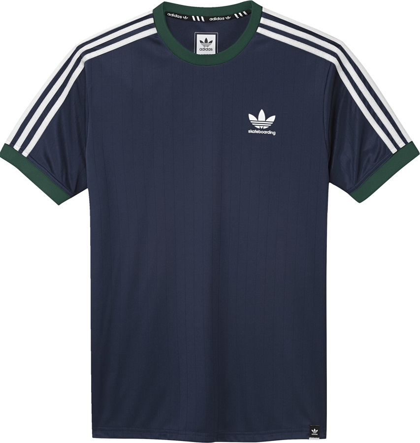 Adidas Clima Club Jersey Short Sleeve T-Shirt, M Indigo/Green/White