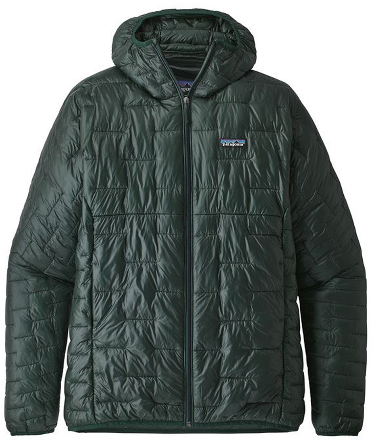 Patagonia Micro Puff Hoody Insulated Jacket, S Micro Green