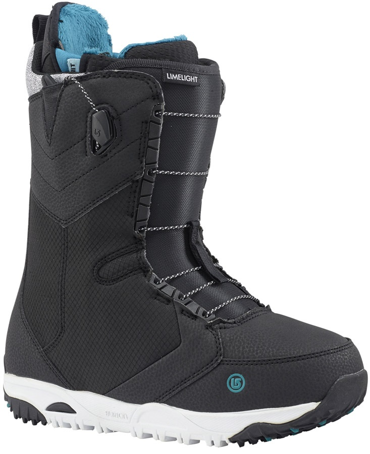 Burton Limelight Women's Snowboard Boots, UK 6 Black 2018