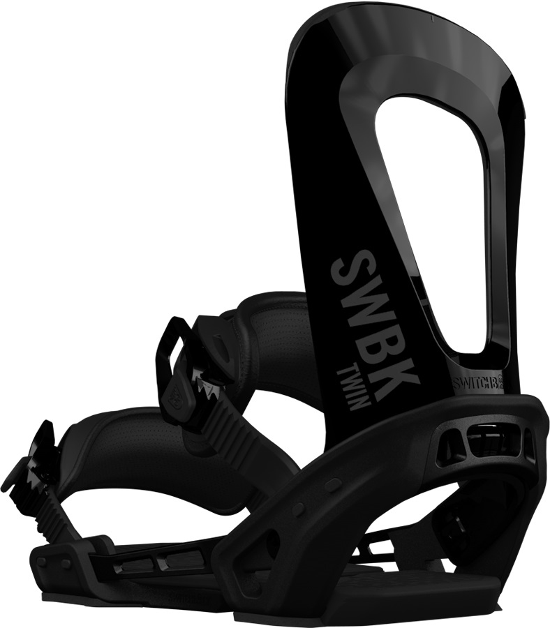 Switchback Twin Snowboard Binding, M-XL Black 2019