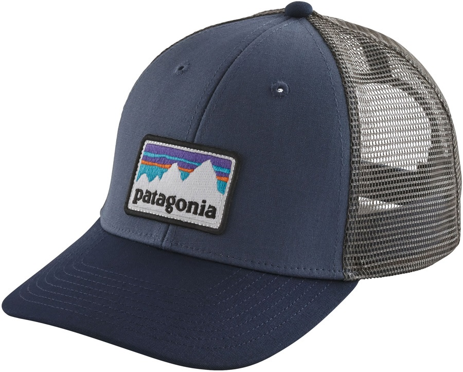 Patagonia Shop Sticker Patch LoPro Trucker Hat 2b570a3c22a1