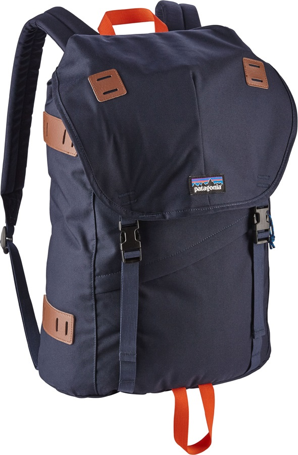 Patagonia Arbor Pack Backpack, 26L Navy/Paintbrush Red
