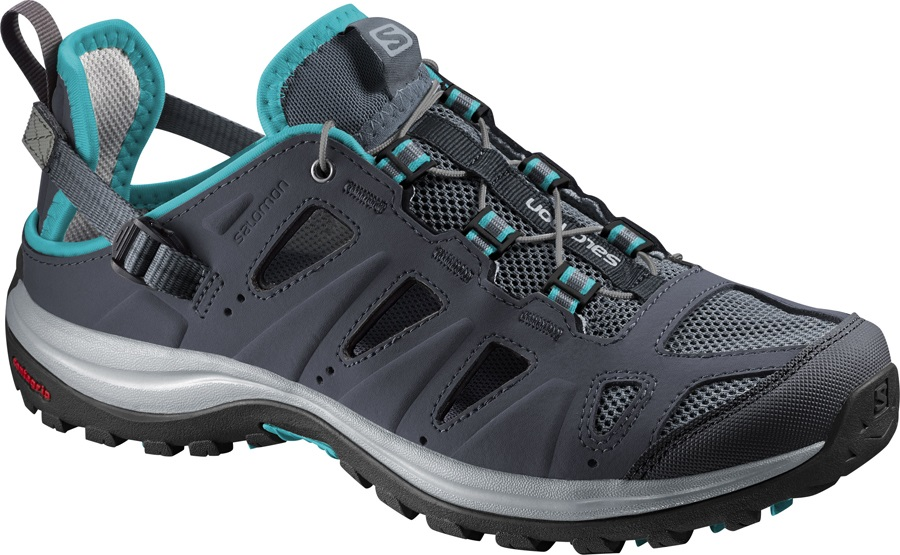 Salomon Ellipse Cabrio Women's Walking Sandal UK 4 Blue