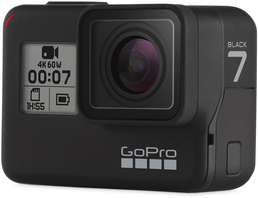 GoPro Hero 7 Action Camera Black With Free 16GB Memory Card