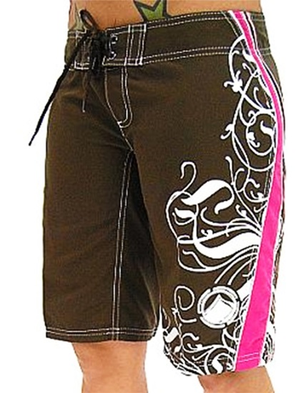 Liquid Force Angel Board Shorts UK 12 Brown