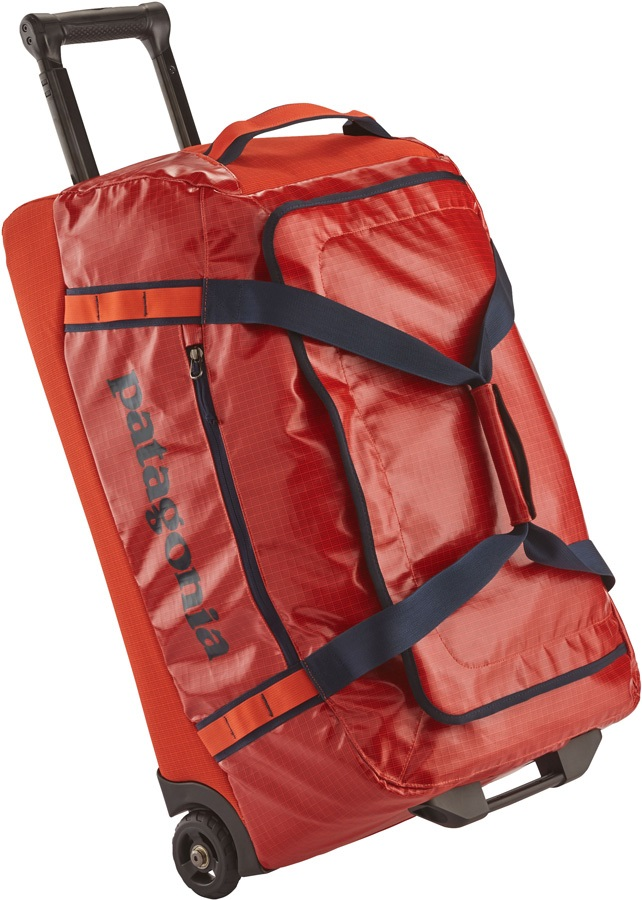 Patagonia Black Hole Wheeled Duffel Travel Bag, 70L Paintbrush Red